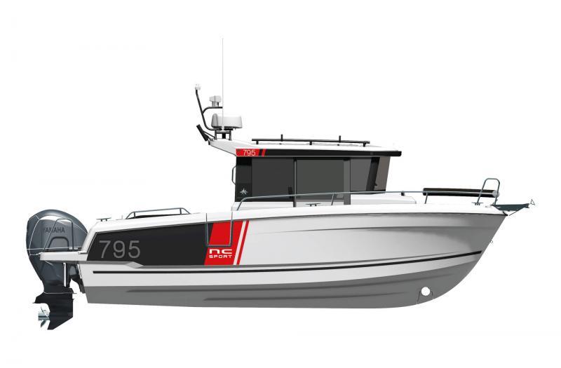 NC 795 Sport Series 2 │ NC Sport of 8m │ Boat powerboat Jeanneau  23176