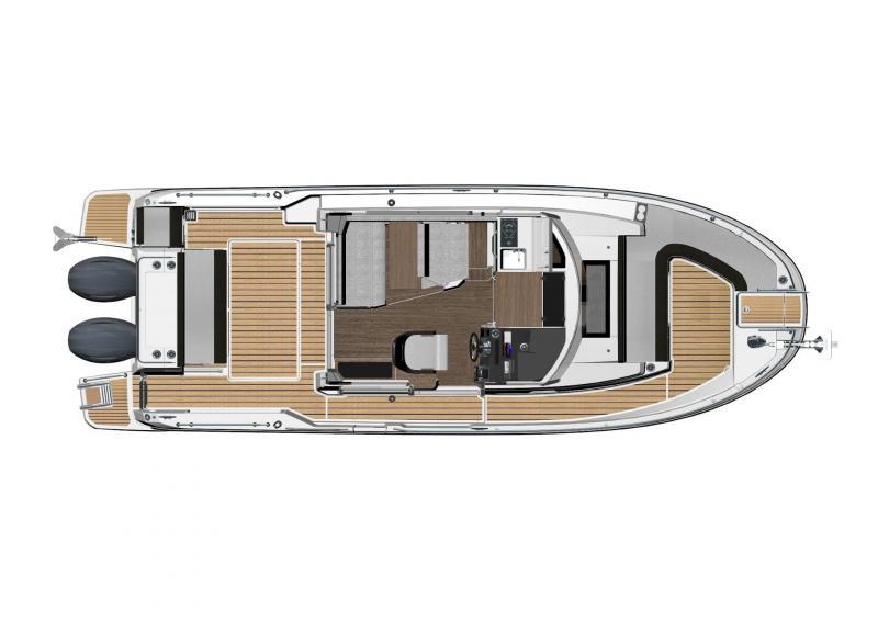 NC 895 Sport │ NC Sport of 9m │ Boat Outboard Jeanneau  18975