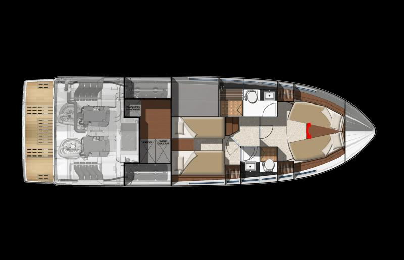 NC 14 │ NC of 14m │ Boat powerboat Jeanneau barche plans 637