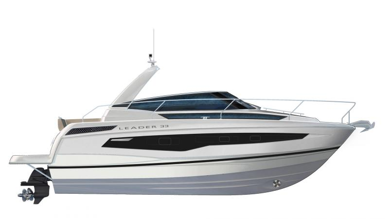 Leader 33 │ Leader of 11m │ Boat powerboat Jeanneau  22085
