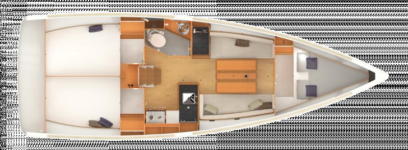 Sun Odyssey 349 │ Sun Odyssey of 10m │ Boat Sailboat Jeanneau  19206