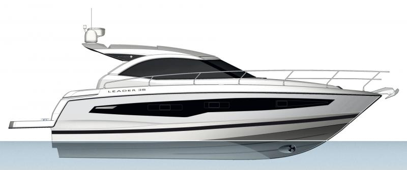 Leader 36 │ Leader of 12m │ Boat powerboat Jeanneau  18387