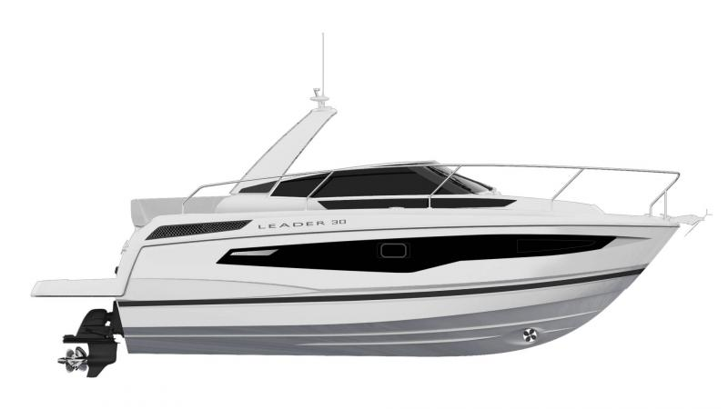 Leader 30 │ Leader of 9m │ Boat powerboat Jeanneau  22068