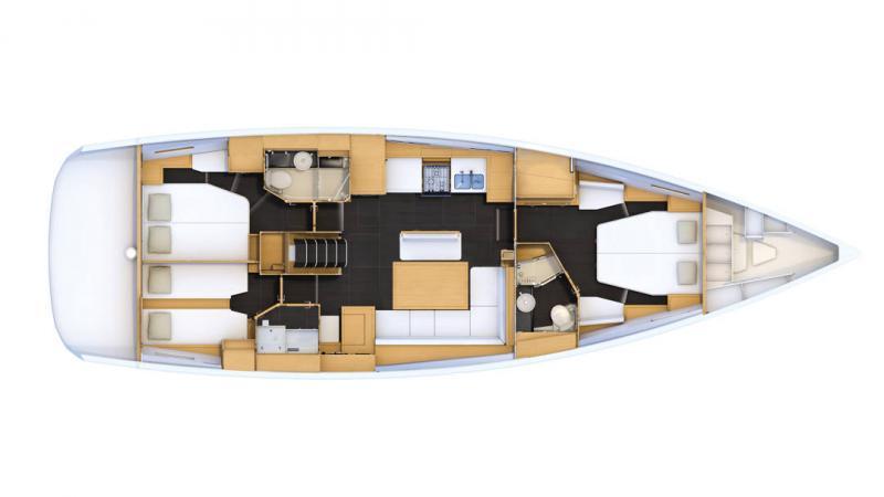 Jeanneau Yachts 54 │ Jeanneau Yachts of 16m │ Boat Segelboote Jeanneau  20290