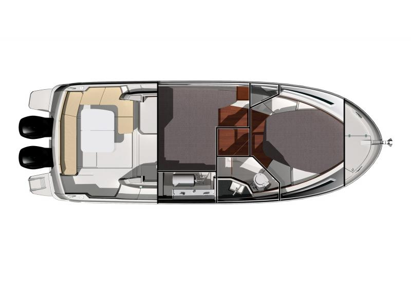 Merry Fisher 855 │ Merry Fisher of 9m │ Boat powerboat Jeanneau boat plans 289