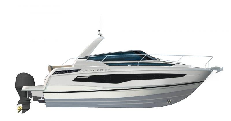 Leader 33 │ Leader of 11m │ Boat powerboat Jeanneau  18345