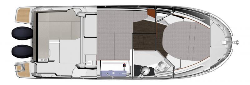NC 895 │ NC Weekender of 9m │ Boat powerboat Jeanneau  18970