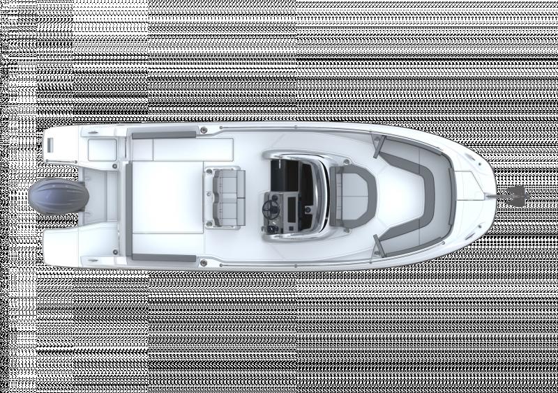 Leader 7.5 CC Series 3 │ Leader CC of 7m │ Boat powerboat Jeanneau  23096