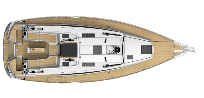 Sun Odyssey 41 DS │ Sun Odyssey DS of 12m │ Boat Sailboat Jeanneau boat plans 614