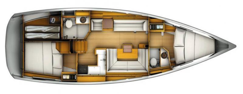 Sun Odyssey 419 │ Sun Odyssey of 13m │ Boat Veleros Jeanneau  19400