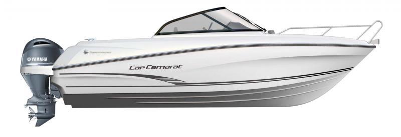 CAP CAMARAT 6.5 BR │ Cap Camarat Bow Rider of 6m │ Boat Outboard Jeanneau  10990