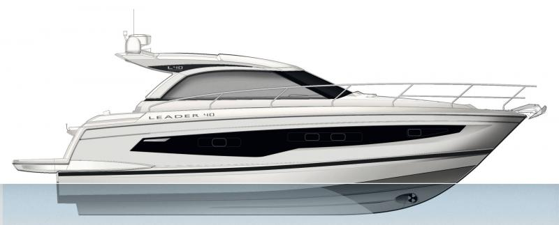 Leader 40 │ Leader of 12m │ Boat powerboat Jeanneau  18459