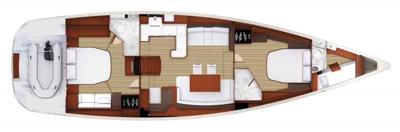 Jeanneau 57 │ Jeanneau Yachts of 18m │ Boat Sailboat Jeanneau boat plans 127