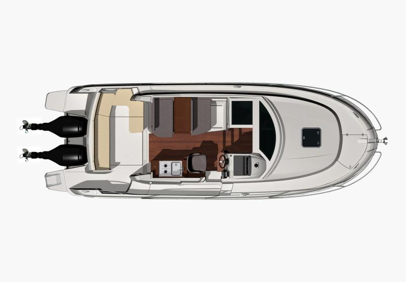 Merry Fisher 855 │ Merry Fisher of 9m │ Boat Outboard Jeanneau boat plans 292
