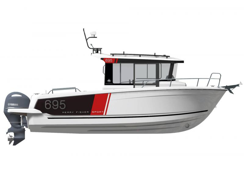 Merry Fisher 695 Sport série2 │ Merry Fisher Sport of 7m │ Boat powerboat Jeanneau  23158