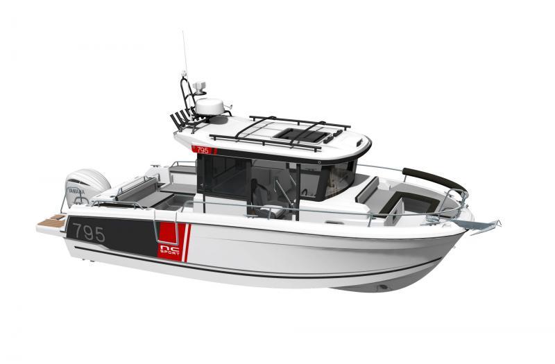 NC 795 Sport Series 2 │ NC Sport of 8m │ Boat powerboat Jeanneau  23175