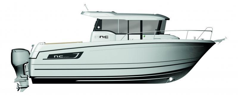 NC 875 Sport │ NC Sport of 8m │ Boat powerboat Jeanneau  10372