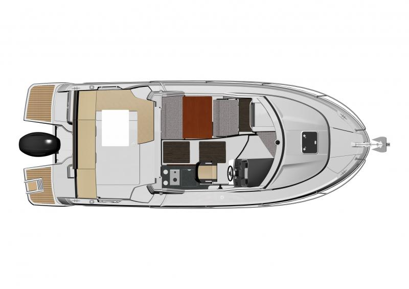 Merry Fisher 795 │ Merry Fisher of 7m │ Boat Outboard Jeanneau boat plans 1417