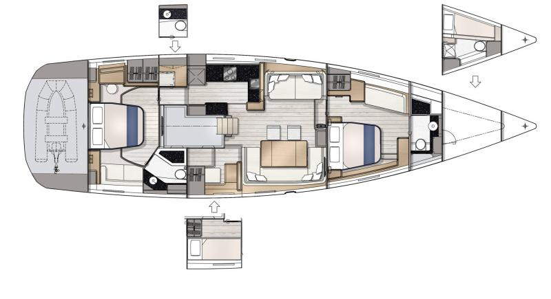 Jeanneau Yachts 65 │ Jeanneau Yachts of 21m │ Boat Sailboat Jeanneau  22963