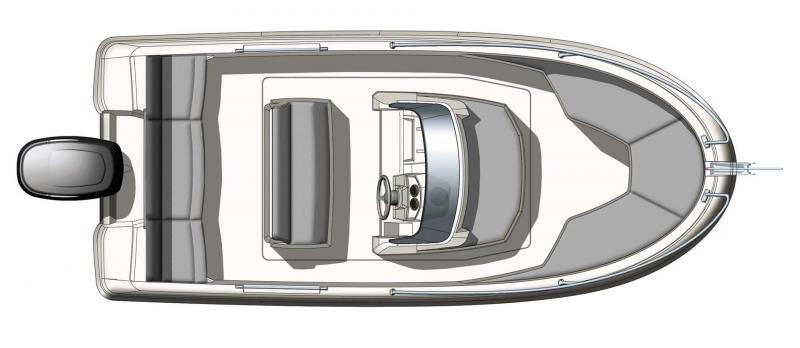 Cap Camarat 5.1 CC │ Cap Camarat Center Console of 5m │ Boat powerboat Jeanneau  10942
