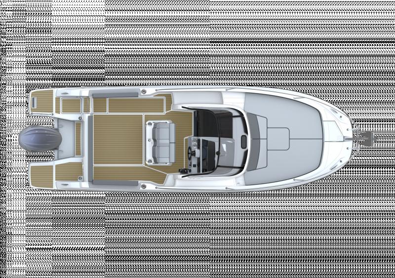 Cap Camarat 7.5 WA Série3 │ Cap Camarat Walk Around of 7m │ Boat powerboat Jeanneau  23139