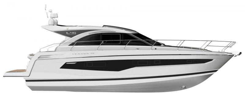 Leader 46 │ Leader of 14m │ Boat powerboat Jeanneau  22160