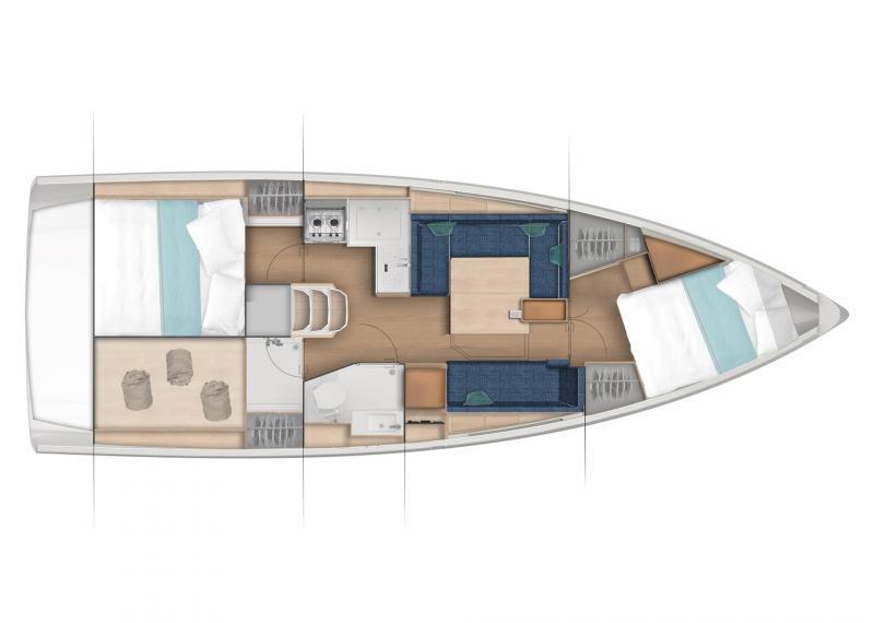Sun Odyssey 380 │ Sun Odyssey of 11m │ Boat Sailboat Jeanneau  22983