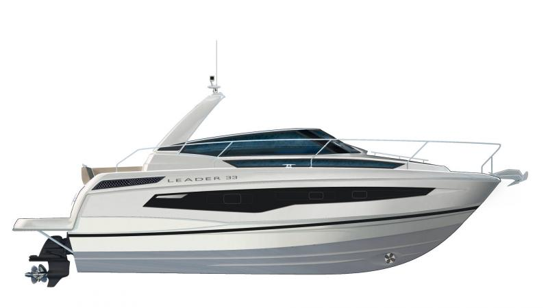 Leader 33 │ Leader of 11m │ Boat powerboat Jeanneau  18342