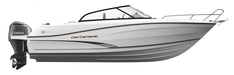 Cap Camarat 7.5 BR │ Cap Camarat Bow Rider of 8m │ Boat Outboard Jeanneau  11118