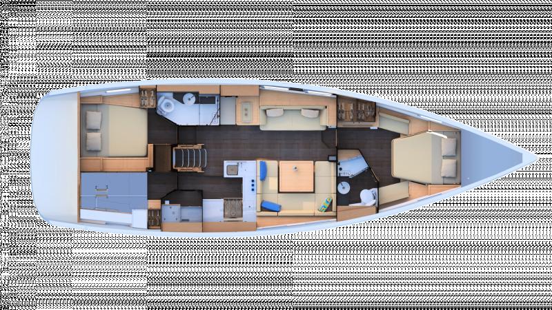 Jeanneau Yachts 51 │ Jeanneau Yachts de 15m │ Bateaux Voiliers Jeanneau  17457