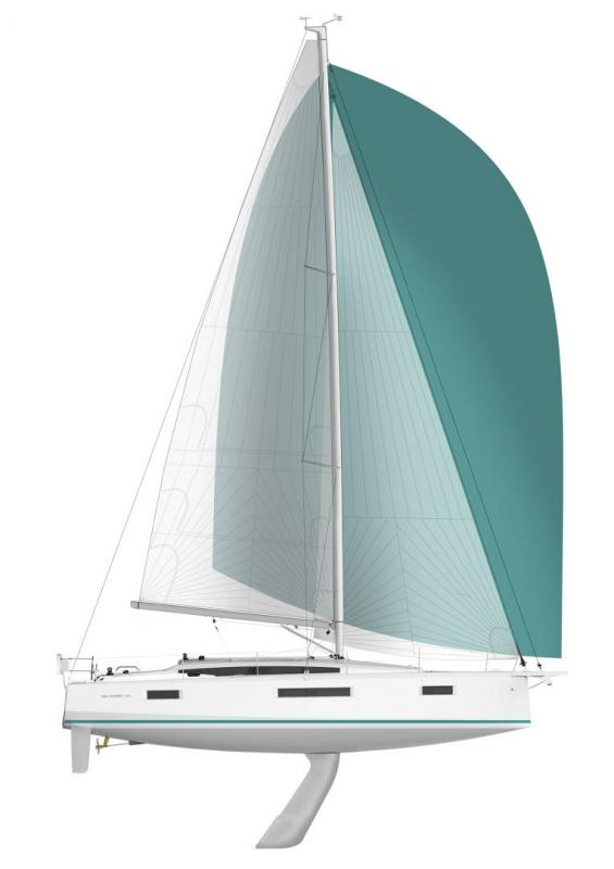 Sun Odyssey 410 │ Sun Odyssey Walk-Around of 12m │ Boat Sailboat Jeanneau Swing Keel 2020 version 19340