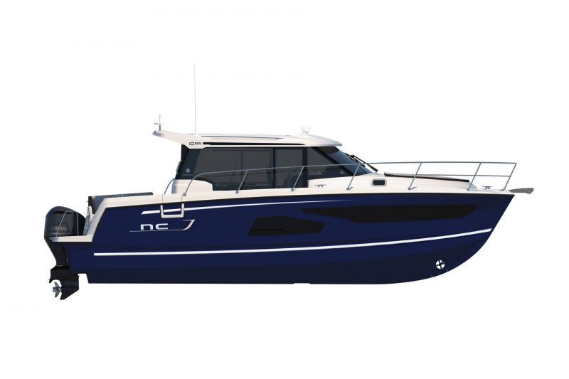 NC 1095 │ NC Weekender of 10m │ Boat powerboat Jeanneau  18851