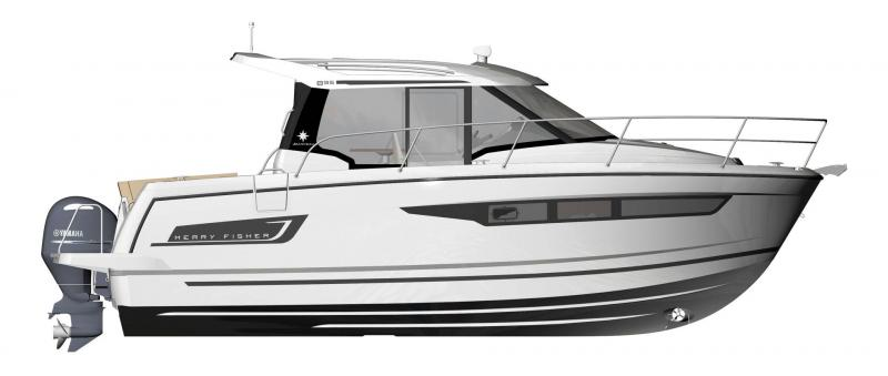 Merry Fisher 895 │ Merry Fisher de 9m │ Bateaux powerboat Jeanneau  18674