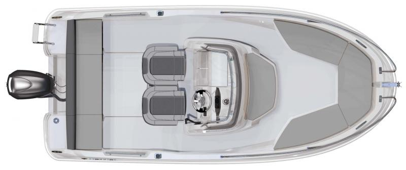 Cap Camarat 5.5 CC │ Cap Camarat Center Console of 5m │ Boat powerboat Jeanneau  10963