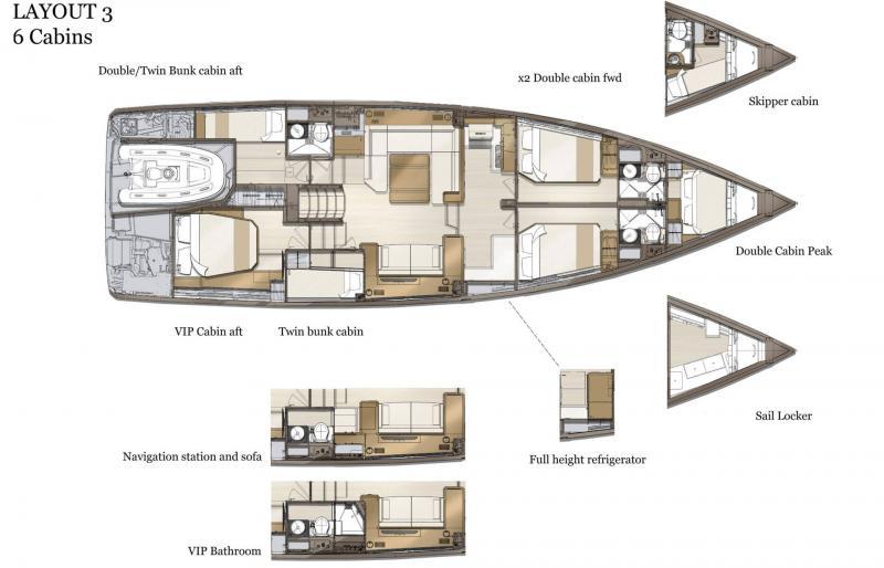 Jeanneau Yachts 60 │ Jeanneau Yachts of 0m │ Boat Sailboat Jeanneau  21069