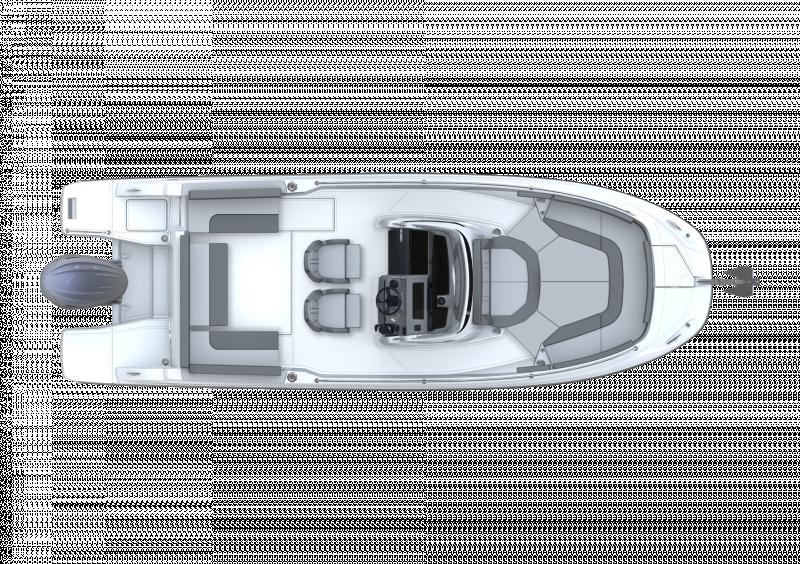 Leader 7.5 CC Series 3 │ Leader CC of 7m │ Boat powerboat Jeanneau  23099