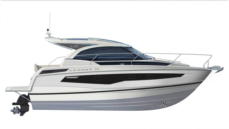 Leader 33 │ Leader of 11m │ Boat powerboat Jeanneau  22084