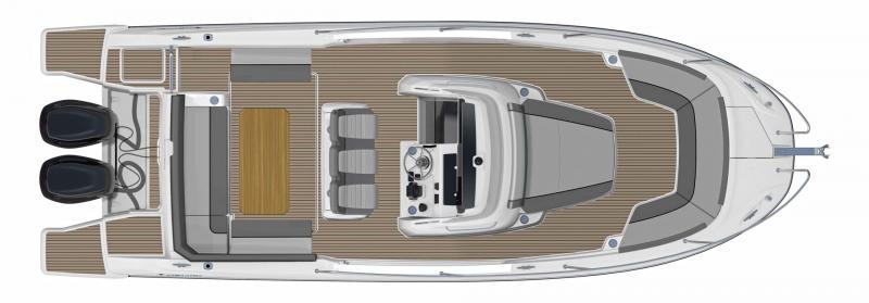 Cap Camarat 9.0 CC │ Cap Camarat Center Console de 9m │ Bateaux powerboat Jeanneau  11161