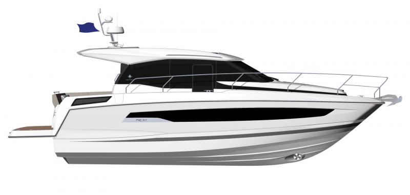 NC 37 │ NC of 12m │ Boat powerboat Jeanneau  22021