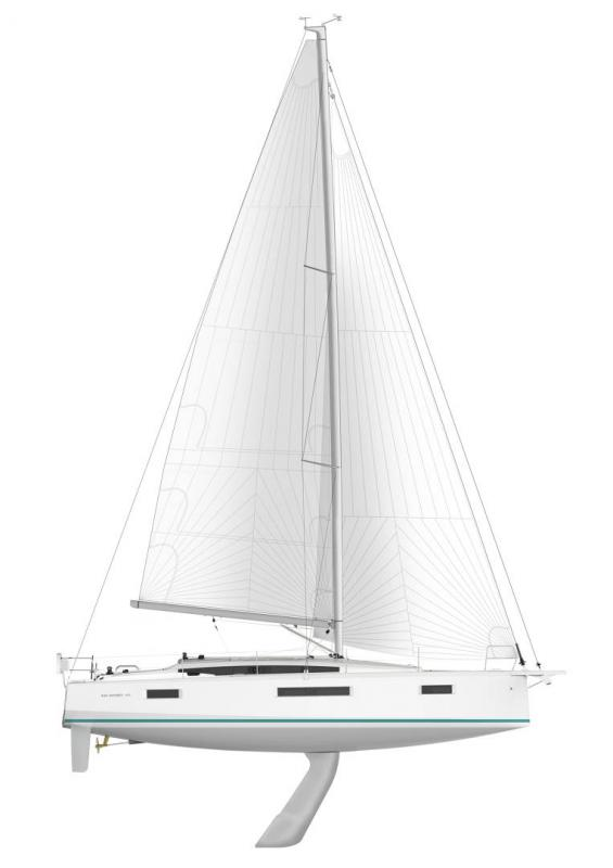 Sun Odyssey 410 │ Sun Odyssey Walk-Around of 12m │ Boat Sailboat Jeanneau Swing Keel 2020 version 19341