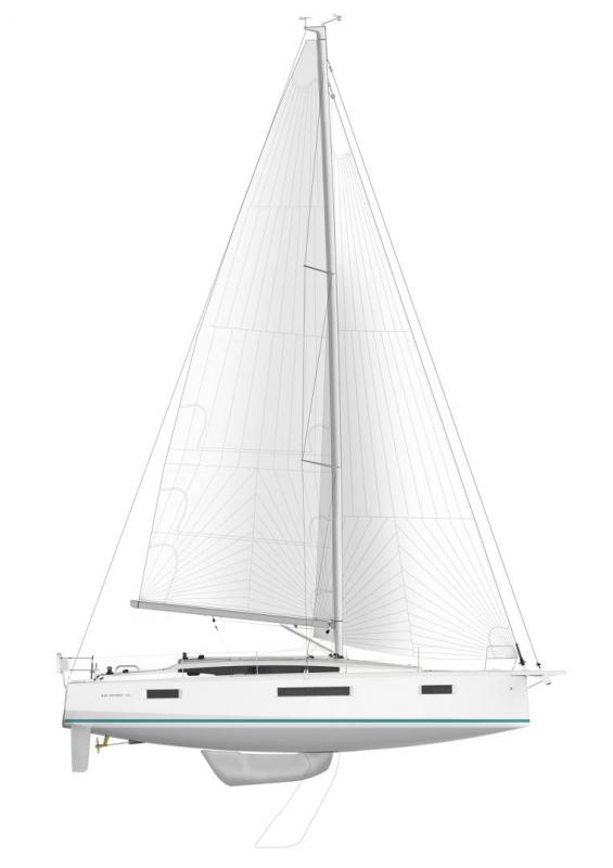 Sun Odyssey 410 │ Sun Odyssey Walk-Around of 12m │ Boat Sailboat Jeanneau Swing Keel 2020 version 19338