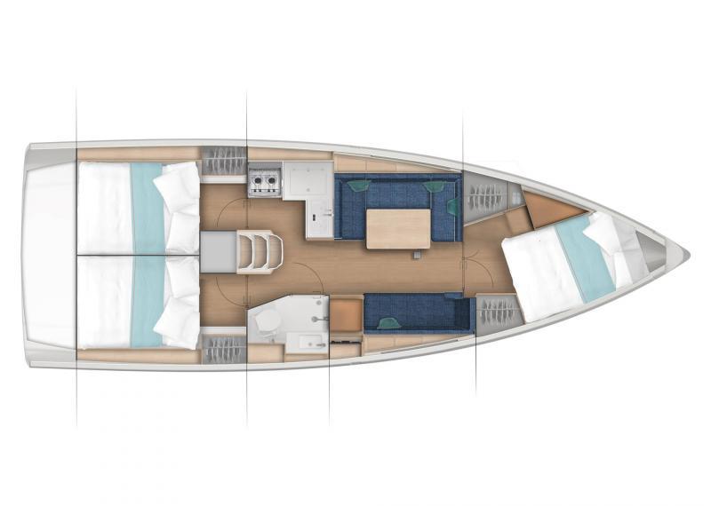 Sun Odyssey 380 │ Sun Odyssey of 11m │ Boat Sailboat Jeanneau  22980