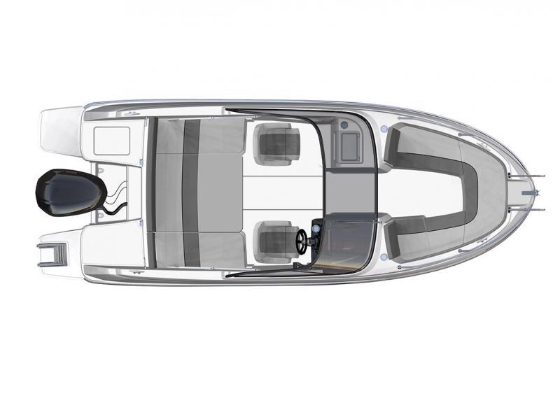 CAP CAMARAT 6.5 BR │ Cap Camarat Bow Rider of 6m │ Boat powerboat Jeanneau  3051