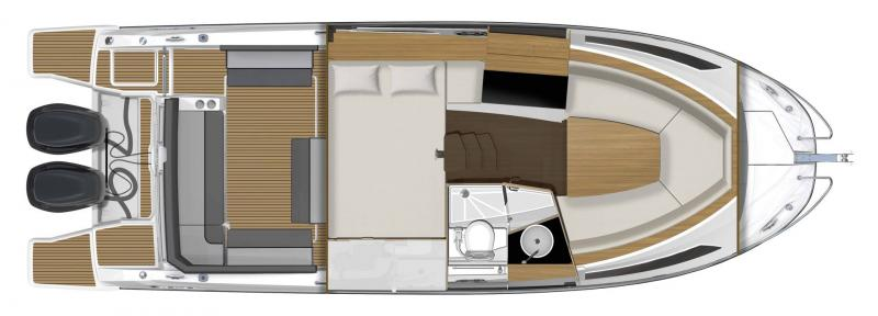 Cap Camarat 9.0 WA │ Cap Camarat Walk Around of 9m │ Boat powerboat Jeanneau  17342