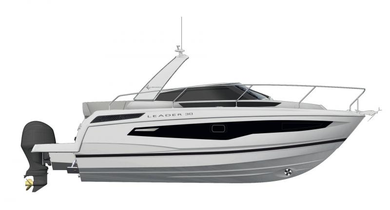 Leader 30 │ Leader of 9m │ Boat powerboat Jeanneau  18245