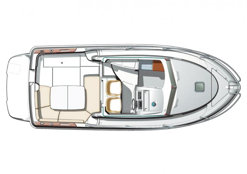 Merry Fisher 705 │ Merry Fisher Inboard of 7m │ Boat powerboat Jeanneau  6619