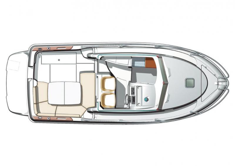Merry Fisher 705 │ Merry Fisher Inboard of 7m │ Boat Inboard Jeanneau  6619