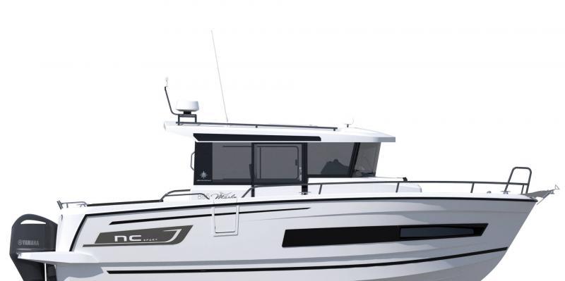 NC 895 Sport │ NC Sport of 9m │ Boat Outboard Jeanneau  18973