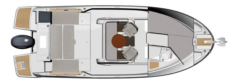 NC 795 Sport │ NC Sport of 8m │ Boat powerboat Jeanneau  21826