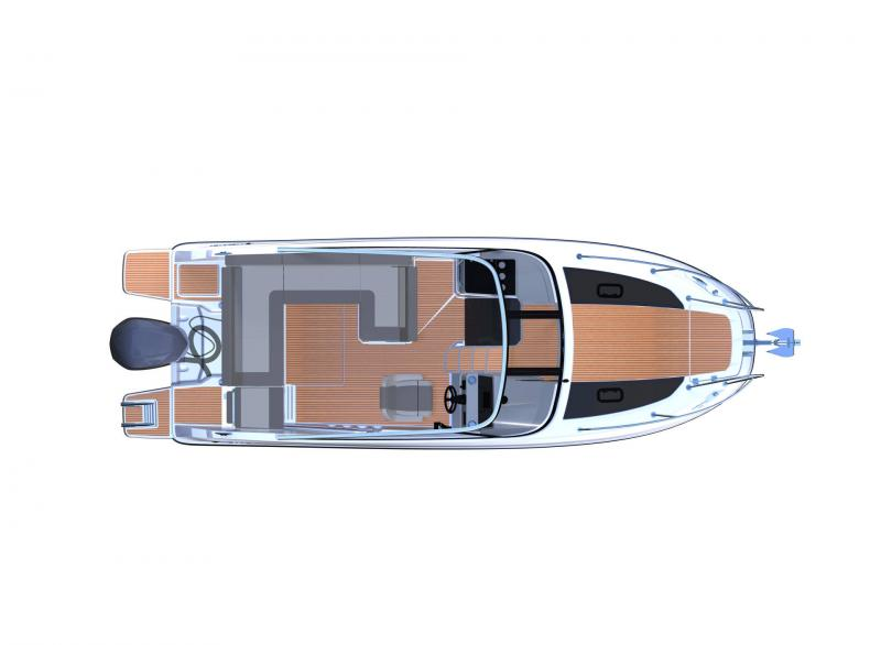 Cap Camarat 7.5 DC │ Cap Camarat Day Cruiser of 7m │ Boat powerboat Jeanneau  17299